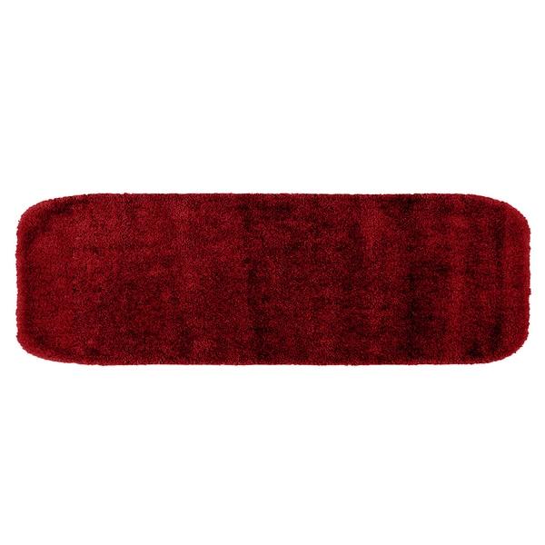 Somette Plush Deluxe Chili Pepper Red 22 x 60 Bath Runner
