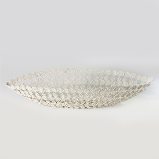Swirl Wire Boat Bowl (India)