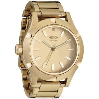 Nixon Women's 'Camden A343' All Goldtone Watch