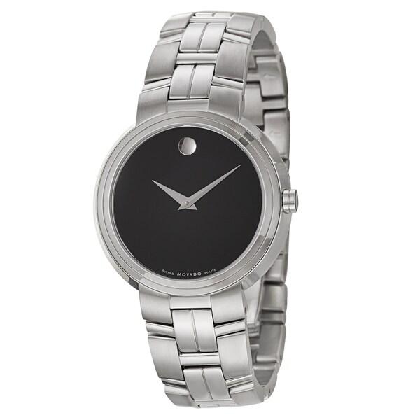 Movado Men's 'Artiko' Stainless Steel Swiss Quartz Watch