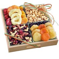 California Fruit Gifts Dried Fruit and Nuts Gift Tray
