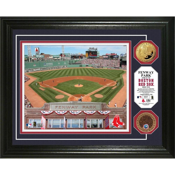 Highland Mint Fenway Park Game Used Dirt Coin Photo Mint