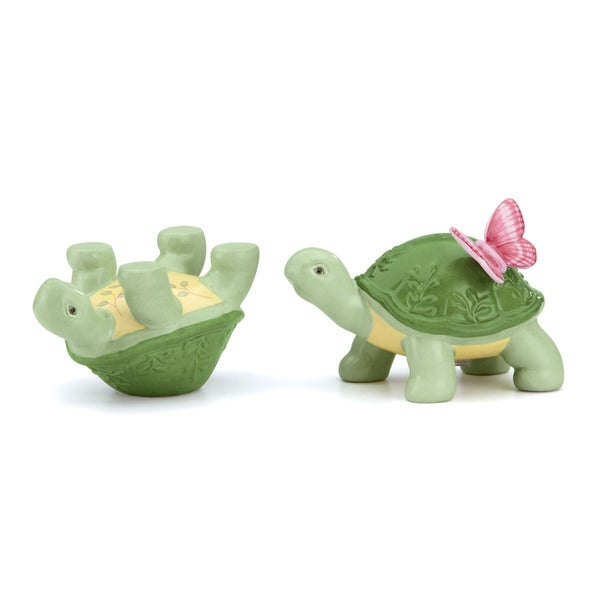 Shop Lenox Butterfly Meadow Turtle Salt And Pepper Shaker