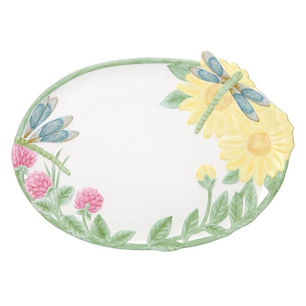 Shop Lenox Butterfly Meadow Dragonfly Tray Free Shipping