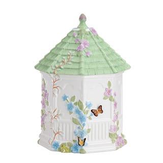 Lenox Butterfly Meadow Gazebo Cookie Jar https://ak1.ostkcdn.com/images/products/7972560/7972560/Lenox-Butterfly-Meadow-Gazebo-Cookie-Jar-P15342390.jpg?impolicy=medium