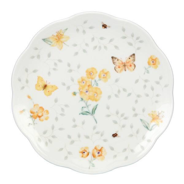 Set of 4 Butterflies in the Meadow 19cm Side Plates