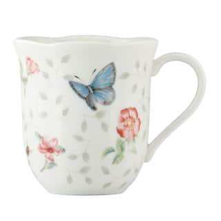 Lenox Butterfly Meadow 4-Piece Assorted Petite Mugs Set