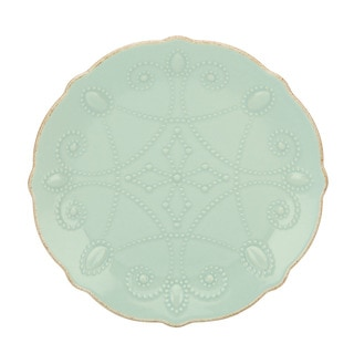 Lenox French Perle Assorted Ice Blue Plates (Set of 4)  sc 1 st  Overstock.com & Lenox French Perle Assorted White Plates (Set of 4) - Free Shipping ...