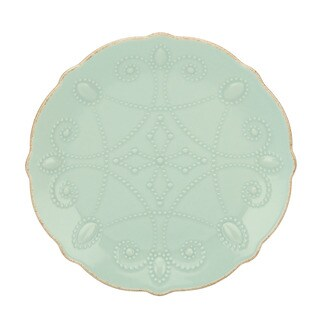 Lenox French Perle Assorted Ice Blue Plates (Set of 4)