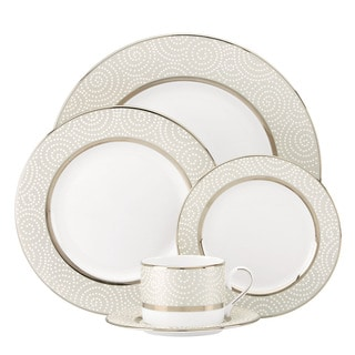 Lenox Pearl Beads 5-piece Place Setting  sc 1 st  Overstock.com & Lenox Dinnerware For Less | Overstock.com