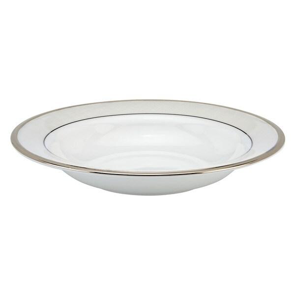 Lenox Linen Mist Pasta Rim Bowl