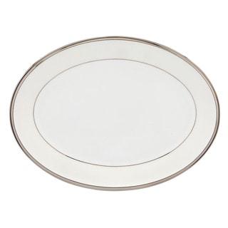 Lenox Linen Mist Oval Platter