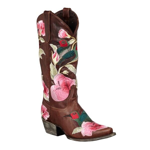 Lane Boots Women's 'Hummingbird' Cowboy Boots