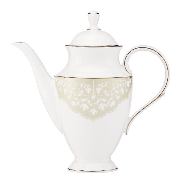 L by Lenox 'Nature's Vows' Fine China Coffeepot