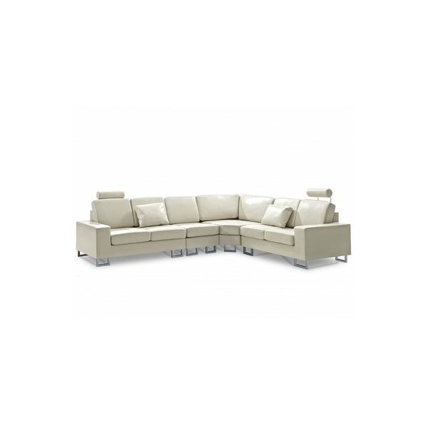 & The HOLM Beige Contemporary Design Sectional Sofa by Velago - DC &