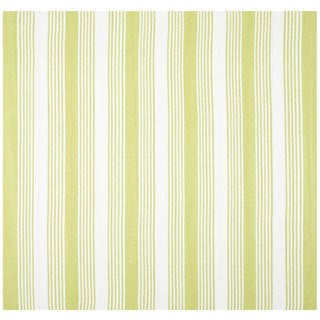 Thom Filicia Hand-woven Indoor/ Outdoor Green Plastic Rug - 7' Square