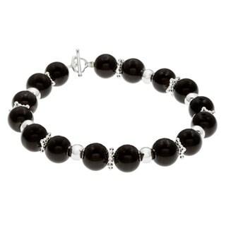 Karla Patin Black/ Silver Bracelet