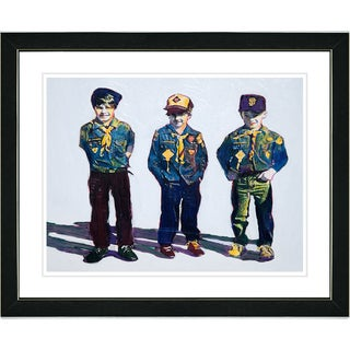 Studio Works Modern 'Boyscouts' Framed Print