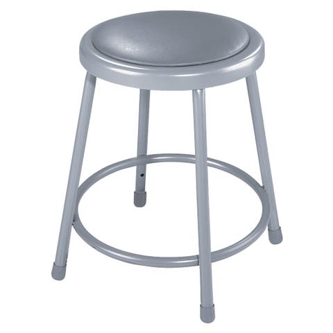 National Public Seating Round Padded Stool