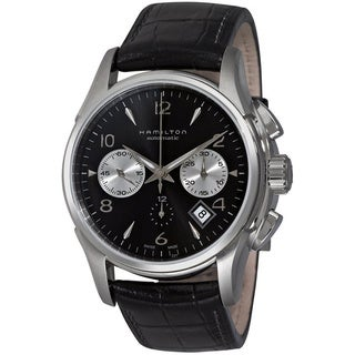 Hamilton Jazzmaster Stainless-Steel Auto Chrono Watch