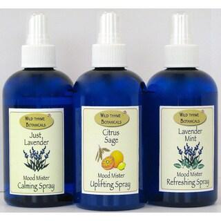 Mood Misters Trio 3-piece Aromatherapy Hydrating Spray Set