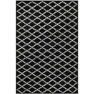 Safavieh Chatham Black Handmade Moroccan Wool Area Rug (4' x 6')
