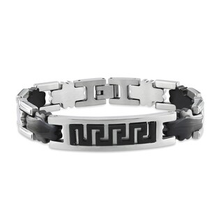 Miadora Men's Stainless Steel Bracelet