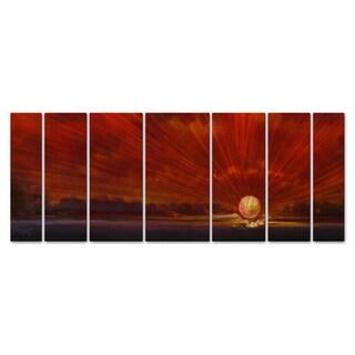 Keith Burnett 'The Creation Series #8' 7-piece Metal Art Set