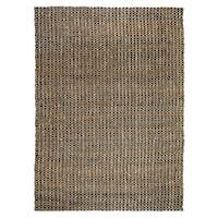 Kosas Home Handmade Timber Woven Natural Jute Rug (8' x 10') - 8'x10'