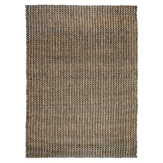 Kosas Home Handmade Timber Woven Natural Jute Rug (8' x 10') - 8' x 10'