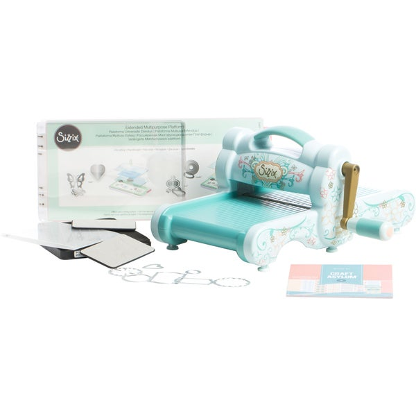 Sizzix Big Shot Starter Kit (Powder Blue & Teal). Opens flyout.