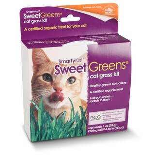 SmartyKat SweetGreens Cat Grass Kit