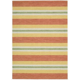 Barclay Butera Oxford Citrus Area Rug by Nourison (5'3 x 7'5)