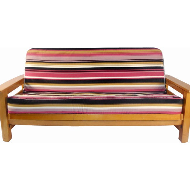 Brilliant Lifestyle Covers Multicolored Stripe Full Size Futon Cover Ncnpc Chair Design For Home Ncnpcorg