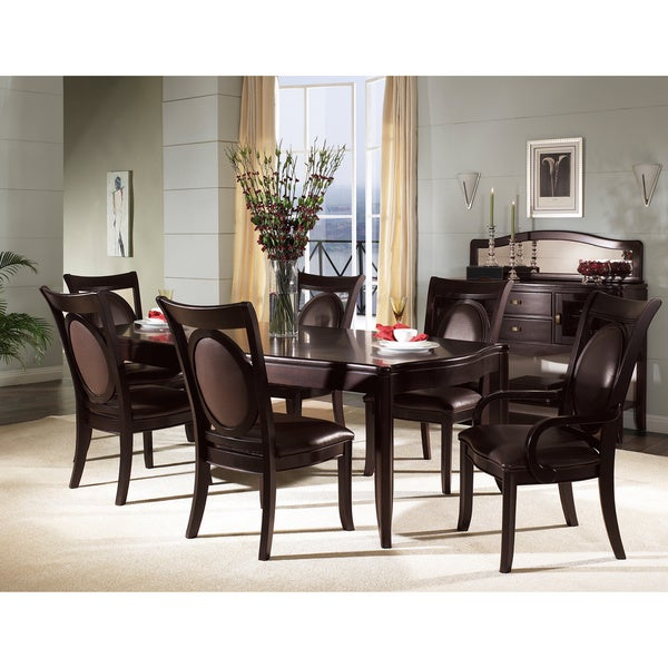 Dining Room Sets Wood: Shop Somerton Dwelling Signature 7-piece Hardwood Dining