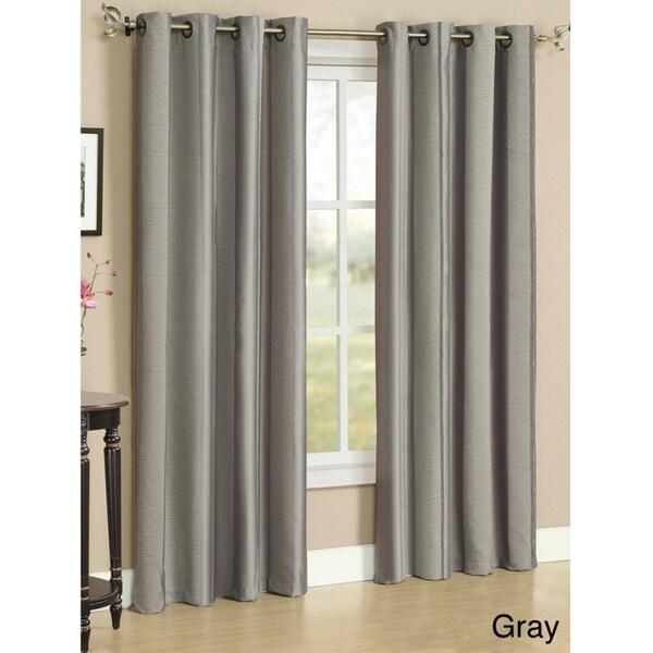 Curtains Ideas Charisma Shower Curtain : Charismau0027 Neutral Stripe Grommet  Curtain Panel Pair   Free