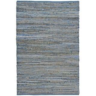 Blue Jeans Hand-woven Denim/ Hemp Rug (2'6 x 4'2)|https://ak1.ostkcdn.com/images/products/7975163/7975163/Blue-Jeans-Hand-woven-Denim-Hemp-Rug-26-x-42-P15344737.jpg?impolicy=medium