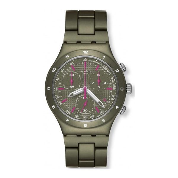 Swatch Green Coat Mens Watch