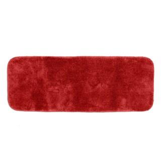 Somette Posh Plush Chili Pepper Red 22 x 60 Bath Runner Rug