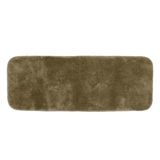 Somette Posh Plush Taupe 22 x 60 Bath Runner