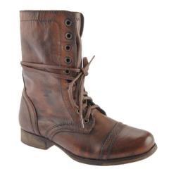 Women's Steve Madden Troopa Brown Leather