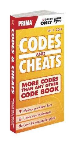 Codes & Cheats 2013: Prima Game Guide (Paperback)