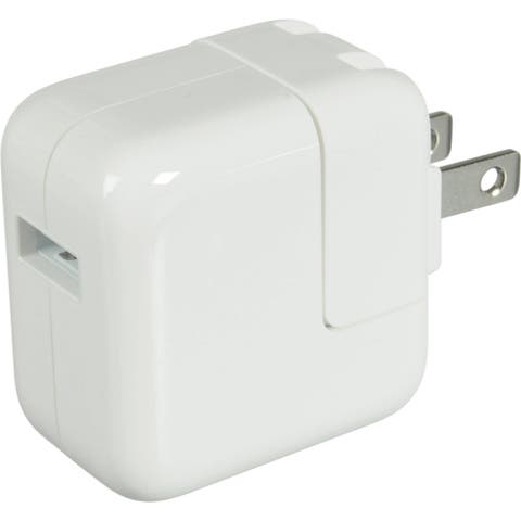 4XEM iPad, Tablet Wall Charger For Apple iPad, iPhone, iPod & Other USB Devices with 2.1A output for fast charging