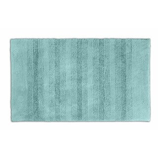 Somette Westport Stripe Sea Foam 24 x 40 Bath Rug