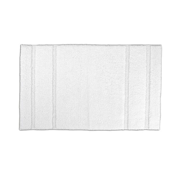 Somette Tranquility Cotton White 24 x 40 Bath Mat
