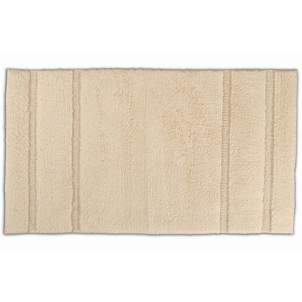 Somette Tranquility Cotton Natural 30 x 50 Bath Rug