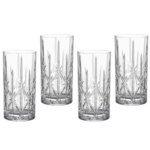 Marquis by Waterford Sparkle Hiball Glasses (Set of 4)