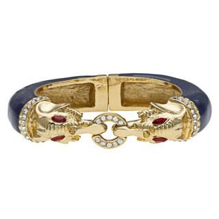 Kenneth Jay Lane Blue Bangle Bracelet