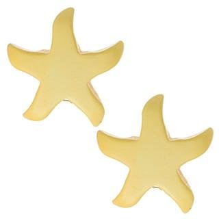 Kenneth Jay Lane Yellow Star Earrings