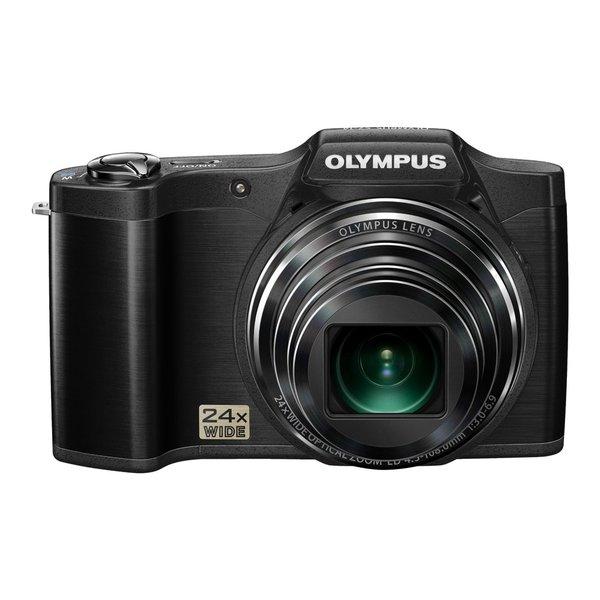 Olympus SZ-14 14MP Black Digital Camera